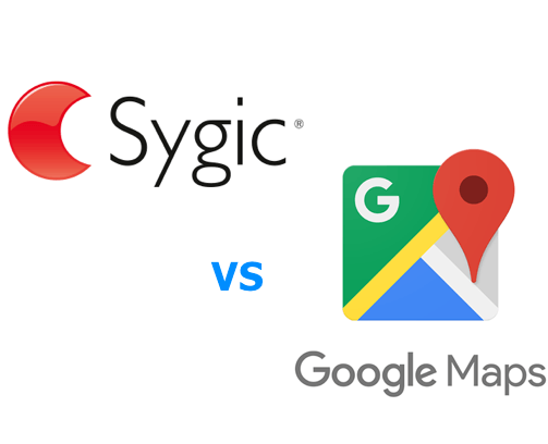 Sygic vs Google Maps
