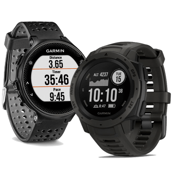 Garmin Instinct vs Forerunner 235